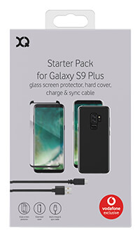 XQISIT Accessory Pack for Samsung Galaxy S9+