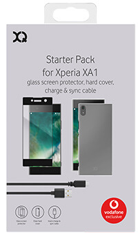 XQISIT Accessory Pack for Sony Xperia XA1