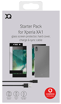 Strax Accessory Bundle for Sony Xperia XA1 - Front