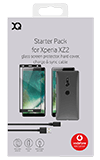 XQISIT Accessory Pack for Sony Xperia XZ2