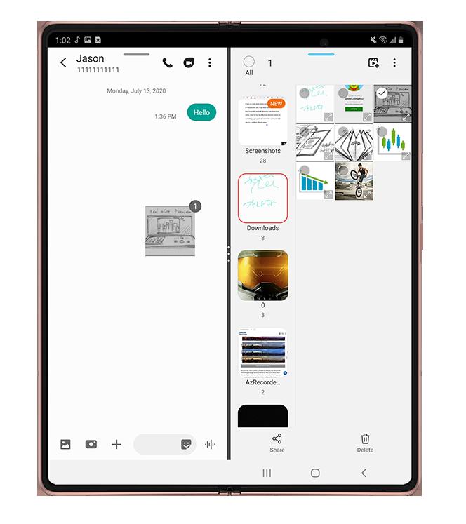 Galaxy Z Fold2 5G productivity